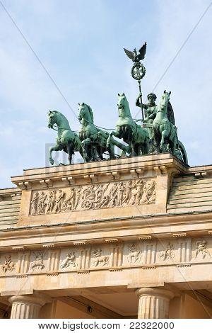 Brandenburg Gate And Quadriga