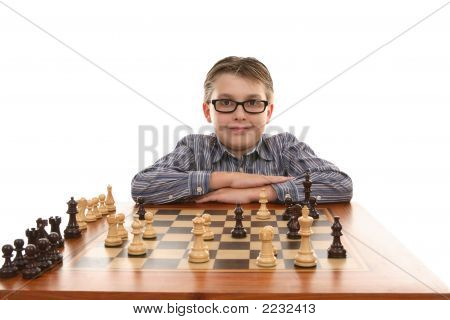 Proud Chess Champion
