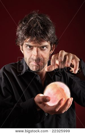 Soothsayer With Crystal Ball