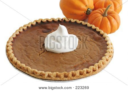 Pumpkin Pie & Pumpkins