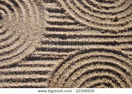 Lines and Circles in the Sand