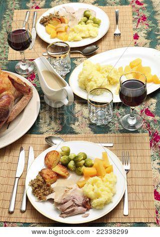 Jantar de Natal tradicional
