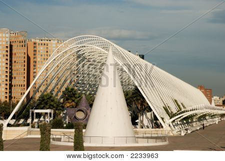 L'Umbracle In The City Of Arts And Sciences In Valencia