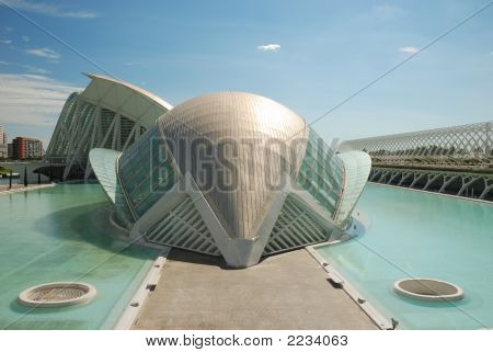 City Of The Arts And Sciences In Valencia