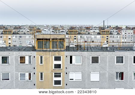 Many Panel Apartments In Cool Tones
