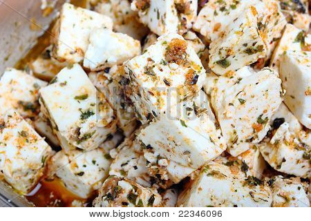 Marinaded Cheese