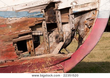 Ship Wrecked Boat