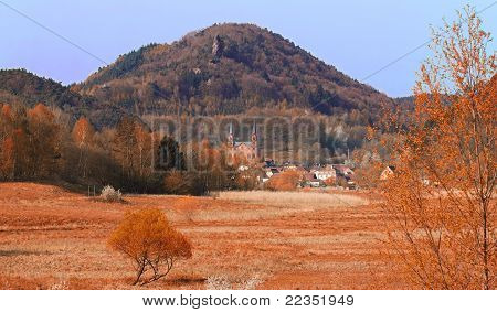 Landscape at fall, Pfalz, Germany