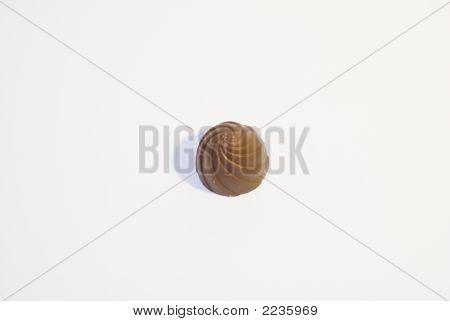 Round Chocolate Truffle