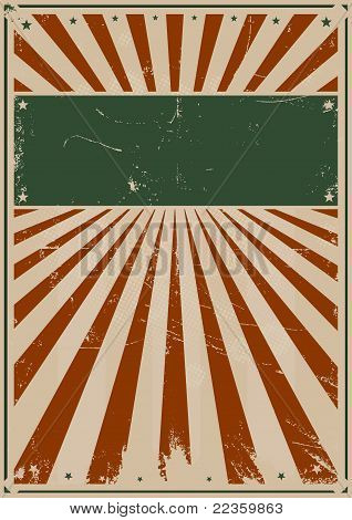 Fourth Of July Vintage Poster