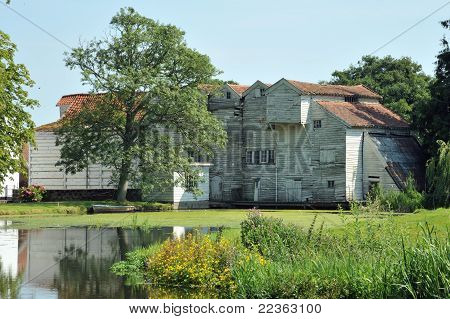 Water Mill on River Bure