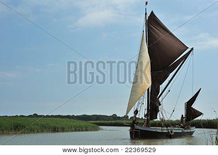 sailing barge