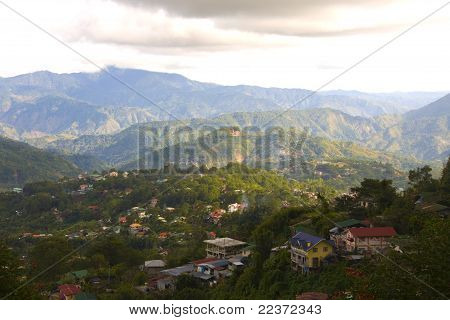Country Side Of Baguio City, Philippines