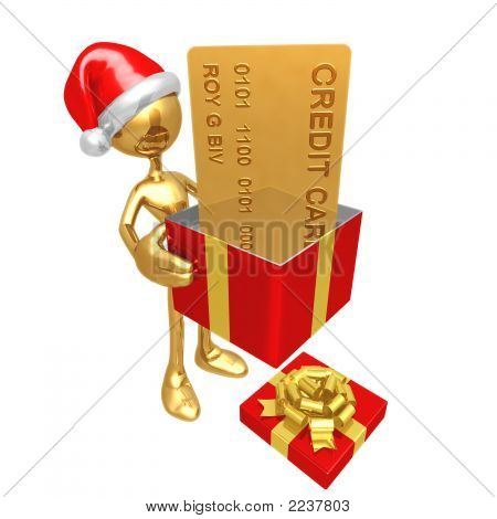 Christmas Gift Credit Card