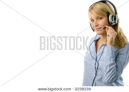 Blonde Operator