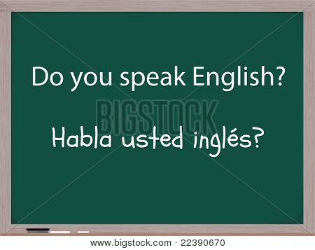 Do You Speak English In Spanish