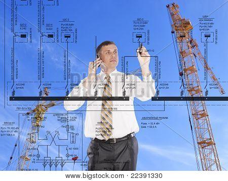 Ingenieur Bau entwerfen