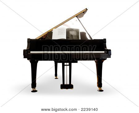 Isolierte Klavier