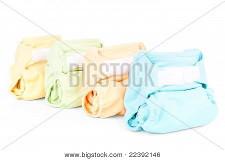 Colorful Diapers