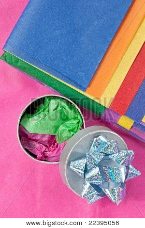 Tissue Paper and Gift Box