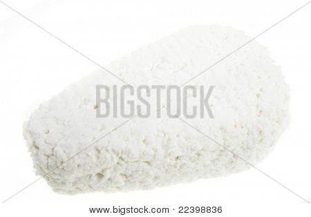 cottage cheese,curd isolated on white background