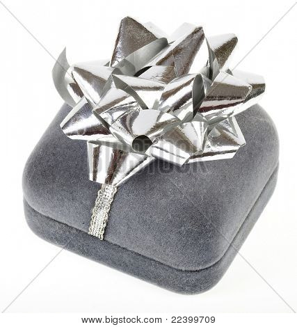 silver  gift  box for jewelry