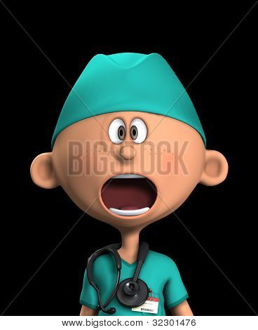 Shocked Surgeon