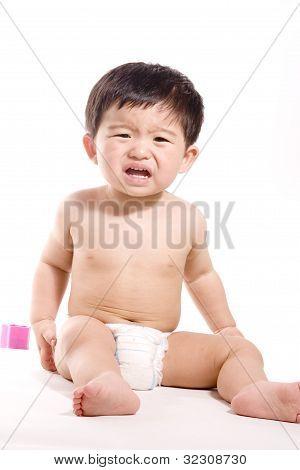adorable asian boy
