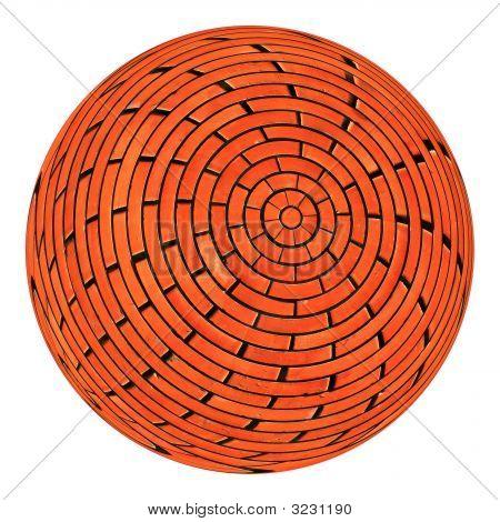 Brick Sphere