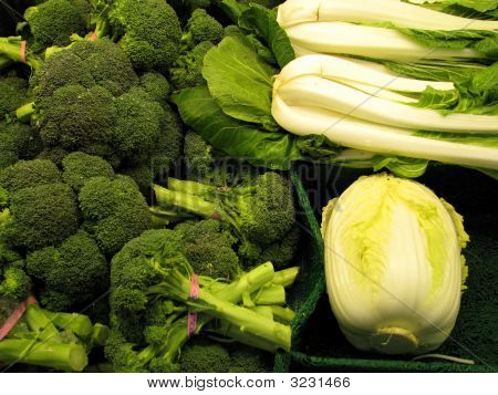Fresh Green Vegetables From Your Grocer