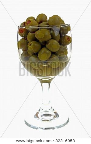 Stuffed Olives In Goblet
