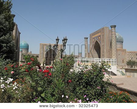 Samarkand Ensemble Of Registan 2007