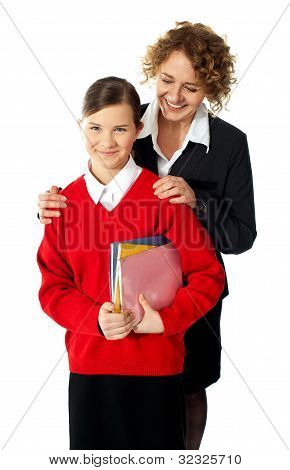 Teacher With Teen Student