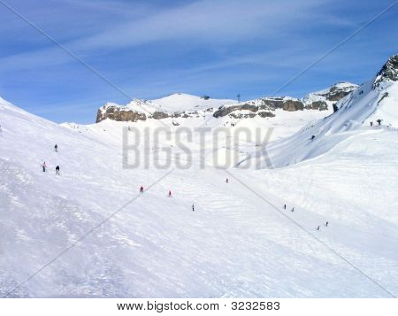 Crans Montana Ski Resort