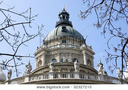 Budapest, cupola of St. Stephen basilica