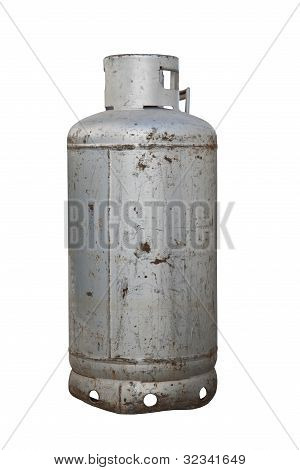 Isolated Propane  Cylinder