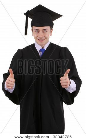 Thumbs Up Graduate