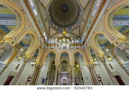 Jumeirah Grand Mosque Interior in Dubai