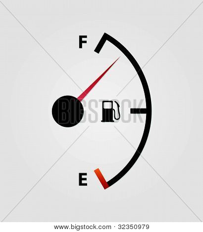 White Gas Full Meter