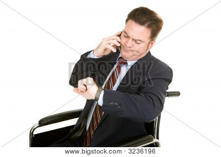 Boring Phone Conversation