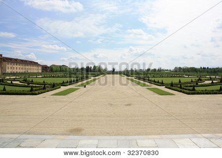 Gardens of Venaria Royal Palace