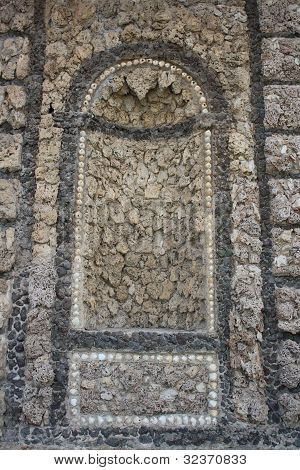 Ancient historical wall