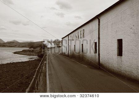 Talisker Distillery, Scotland
