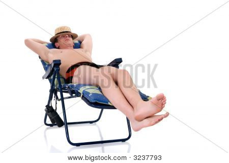 Relaxing Man, Vacation