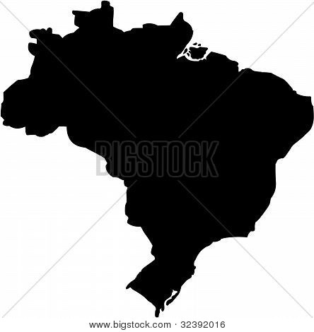 Outline of the South American country of Brazil