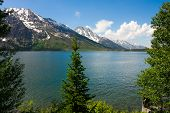 Jenny Lake in Grand Teton National Park, Wyoming.