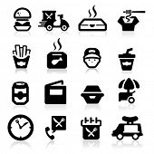 picture of chinese menu  - Electrician icons set Elegant series - JPG