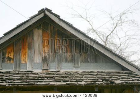 Weathered Wood Roof