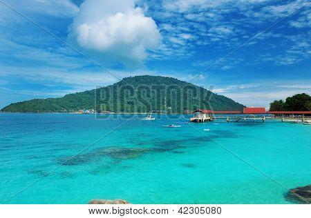 Beautiful seascape at Perhentian islands, Malaysia