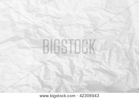 Wrinkled Paper Background
